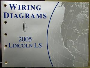 2005 Lincoln Dealer Electrical Wiring Diagram Service
