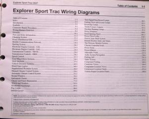 2007 Ford Dealer Electrical Wiring Diagram Service Manual