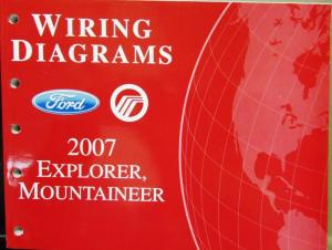 2007 Ford Dealer Electrical Wiring Diagram Service Manual