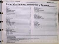 2008 Ford Mercury Electrical Wiring Diagram Manual Crown ...