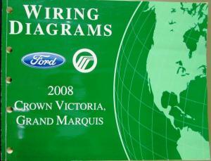 2008 Ford Mercury Electrical Wiring Diagram Manual Crown