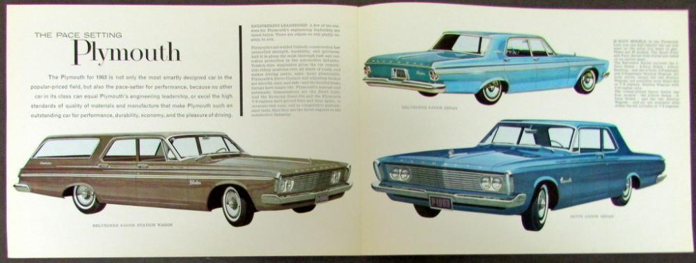 4 Plymouth 1960 Door Hardtop