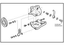 Tornillo tubo bomba direccion hidraulica CHEVROLET MONZA