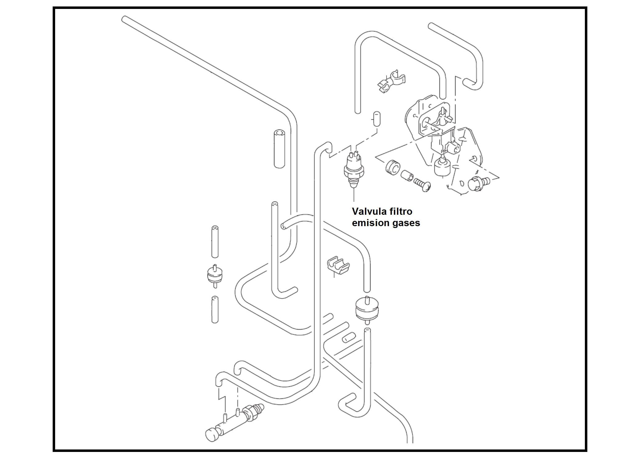 Valvula Filtro Emision Gases Chevrolet Swift
