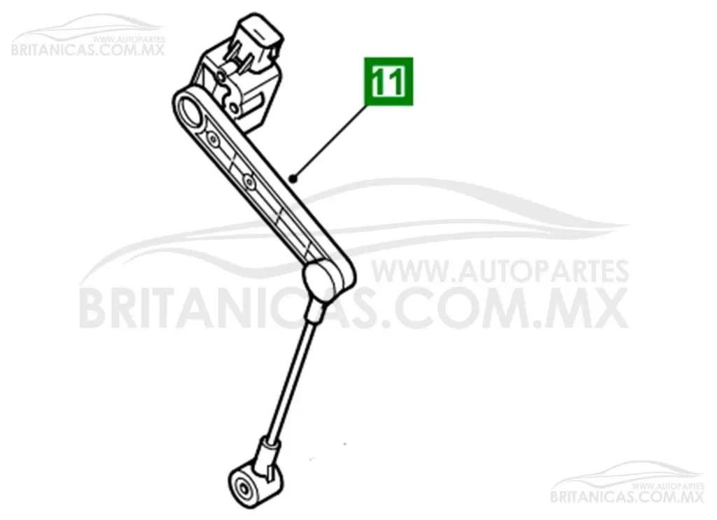 Sensor de altura trasero para Discovery 2 y Range Rover