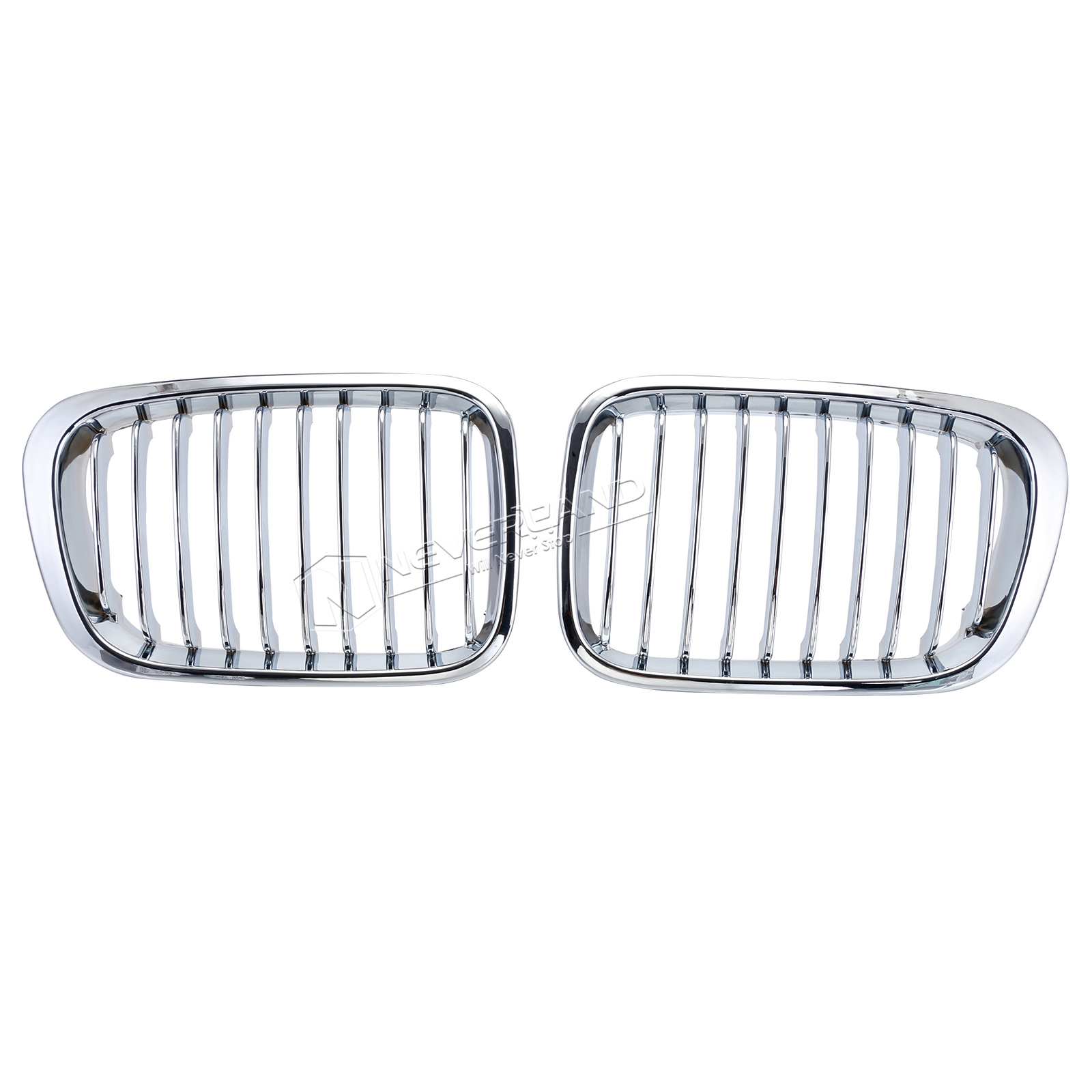 Front Kidney Grille Grill Fits BMW E46 3 Series 4 Door