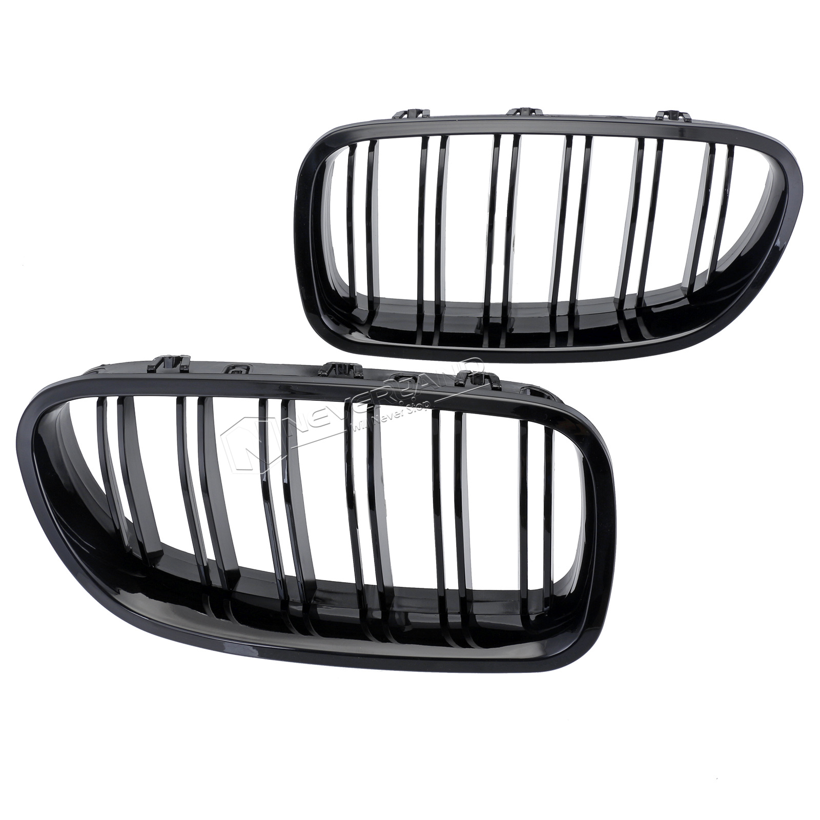 Gloss Black Front Sport Kidney Grill Grille For BMW 10-14