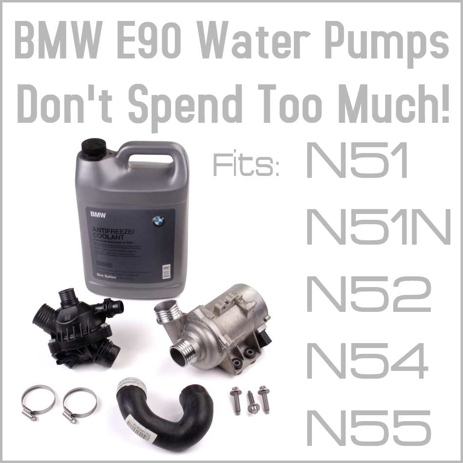 hight resolution of common problems to the bmw 3 series e90 electric water pump eeuroparts com