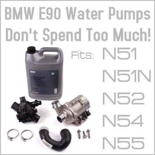 small resolution of common problems to the bmw 3 series e90 electric water pump eeuroparts com