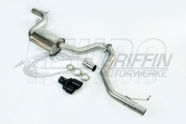 Volkswagen Exhaust System Kit (Cat-Back) (Performance