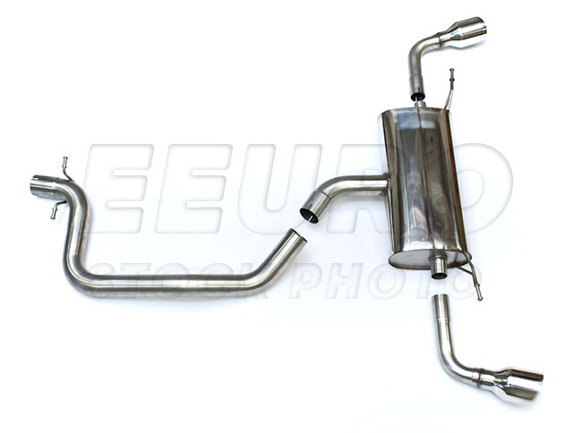 Audi Exhaust System Kit (Cat-Back) (Performance) (100mm