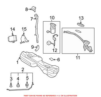 BMW Fuel Tank Sending Unit and Fuel Filter Assembly