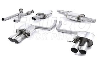 Audi Exhaust System Kit (Cat-Back) (Performance) (Titanium