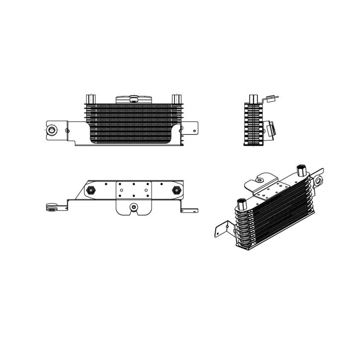 OEM Replacement External Transmission Oil Cooler