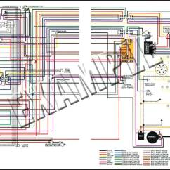 1957 Chevy Truck Wiring Diagram Ceiling Fan 3 Way Switch 1975 All Makes Models Parts | 14271 Camaro 8-1/2 X 11 Laminated Colored ...
