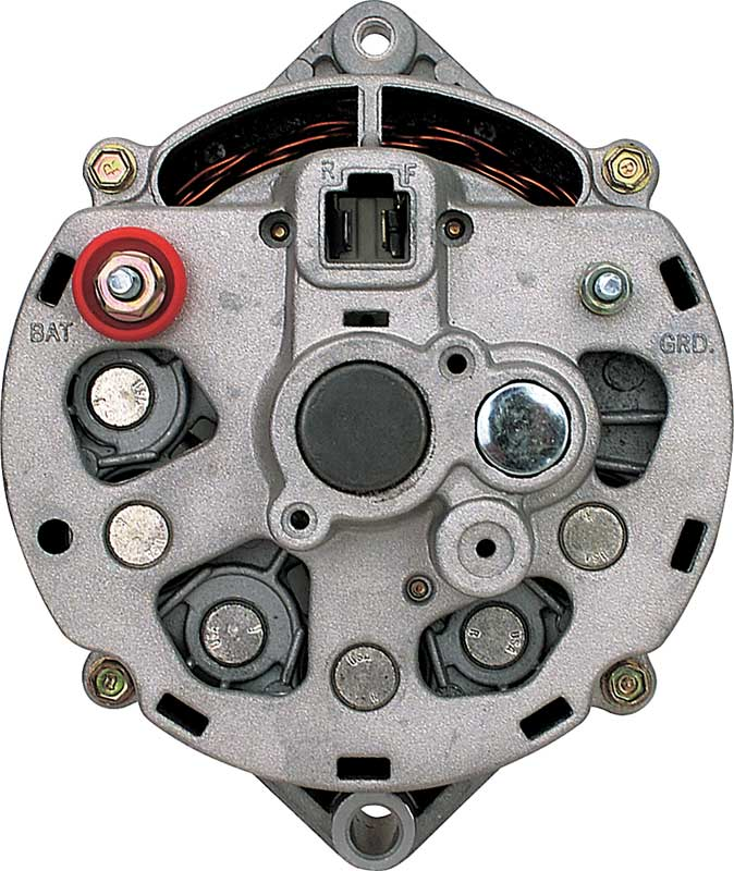 Gm Externally Regulated Alternator To Voltage Regulator Wiring Lzk