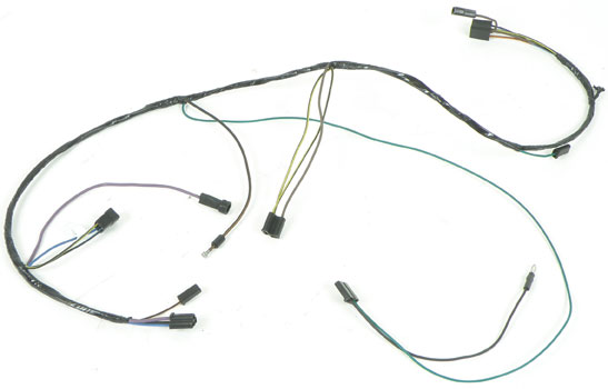 1964 Impala Complete Wiring Harness : 35 Wiring Diagram