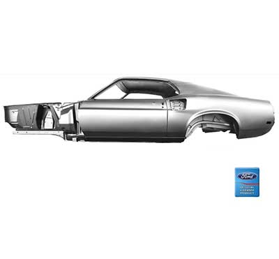 In 1969, chevy, oldsmobile, dodge, and ford were in a race to see who could produce the most powerful muscle car. 1969 Ford Mustang Parts Body Panels Unibody And Specialty