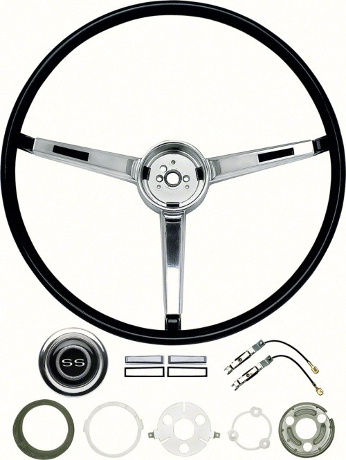 small resolution of 1967 chevrolet chevy ii nova parts interior hard parts steering wheel and column classic industries