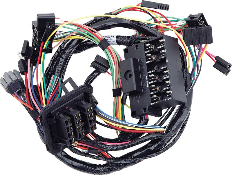 plymouth duster wire harness