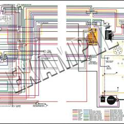 1964 Chevy Truck Color Wiring Diagram Trailer For 2001 Silverado 1974 All Makes Models Parts | Ml13063b Dodge Dart / Plymouth Duster 11 X 17 ...