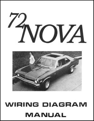 1972 Chevrolet Nova Parts | Literature, Multimedia