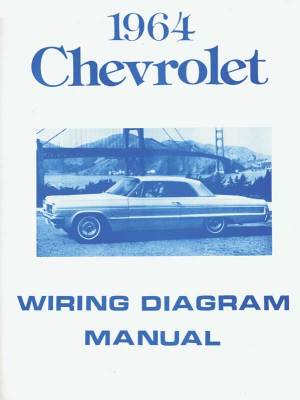 1964 All Makes All Models Parts | MP224 | 1964 Chevrolet FullSize Wiring Diagram | Classic