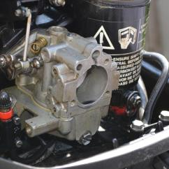 25 Hp Johnson Outboard Parts Diagram Clipsal Saturn Zen Wiring Carburetor Cleaning (1hp To 40 Hp) 1989-2005