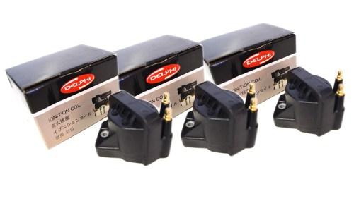 small resolution of delphi ignition coil set 3 fits holden commodore vn vp vr vs vt vx vy 3 8l v6