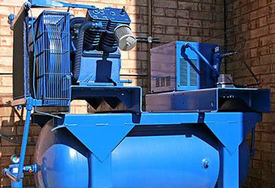Enfriadores AKG de aceite/aire comercializados por Imprefil