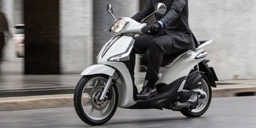 Scooter circulando