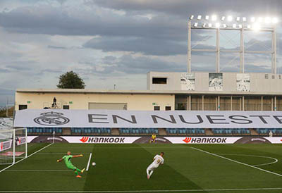 Hankook y el Real Madrid llevan voz al estadio Alfredo di Stefano