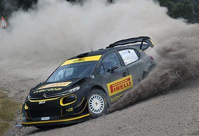 Prueba de prototipos con neumáticos Pirelli para el próximo Mundial de Rallies
