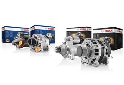 Bosch eXchange flexibiliza la devolución de motores de arranque y alternadores