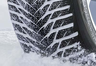 Recomendación para usar neumáticos de invierno certificados