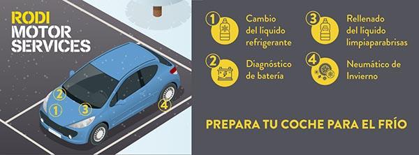Prepara tu coche