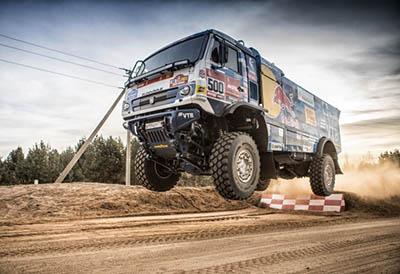 Goodyear listo para conquistar el próximo Dakar