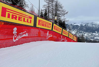 Pirelli patrocina esqui