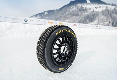 Pirelli suministra neumáticos Sottozero con clavos para el WRC de Finlandia