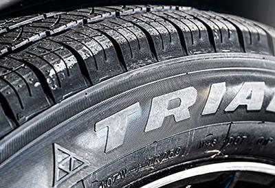 Triangle encabeza las marcas chinas de neumáticos para automóviles
