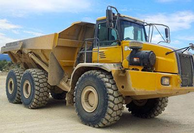 BKT lanza el nuevo Earthmax SR 412