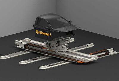 Continental probará sus neumáticos en un simulador de conducción