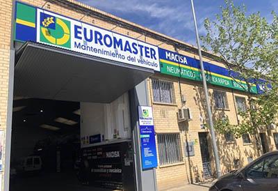 La red Euromaster alcanza los 400 talleres en la península Ibérica