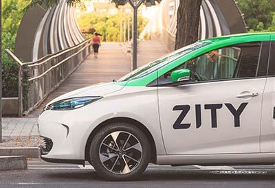 La seguridad del neumático DriveGuard de Bridgestone se incorpora a la flota Zity