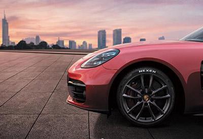 Nexen suministrará neumáticos N'FERA Sport al Porsche Panamera