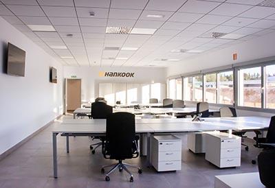 Hankook amplía su capacidad de pruebas en España