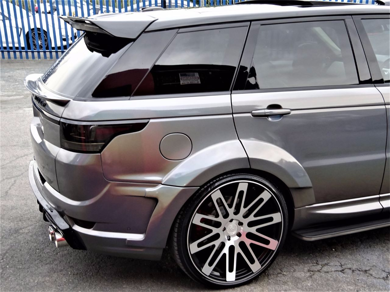 Used Land Rover Range Rover Sport RROVERSPORT ABIOG DYN V8 VZR 600 WIDE ARCH WITH EVERY EXTRA BESPOKE EDITION for sale in Bradford, West Yorkshire ...