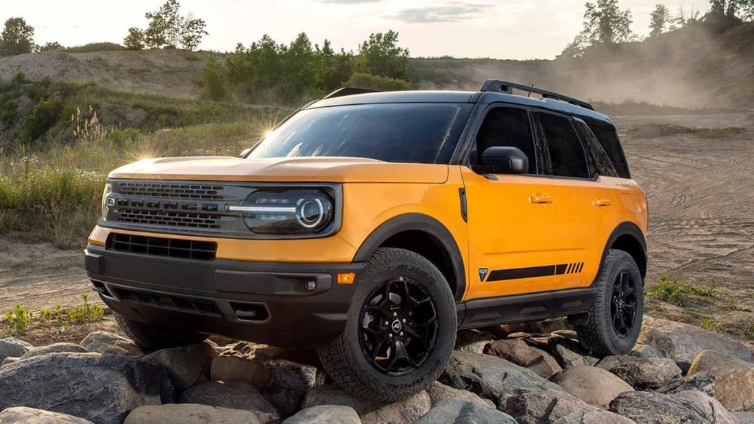 New ford bronco sport off road