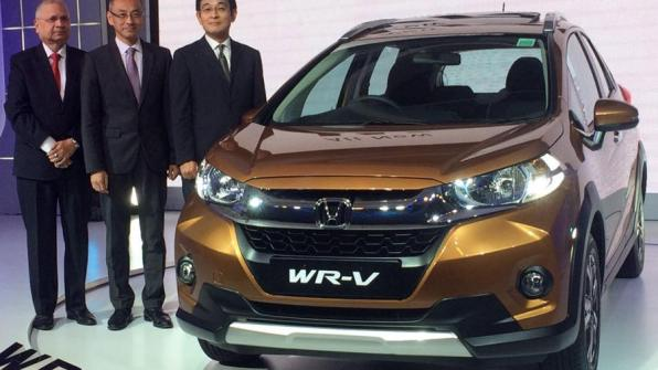Honda WRV launched
