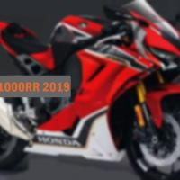 Honda CBR1000RR or even a 1100RR for 2019 !